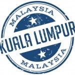 Kuala lumpur stamp — Stock Vector #51277745