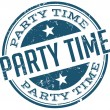 Party time stamp — Stock Vector #51277785