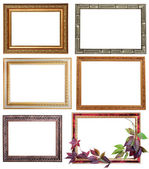 Set of six vintage frames — Stockfoto