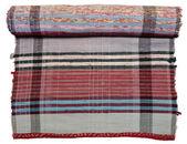 Traditional Russian knit Mat handmade. — Stock Photo