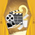 Film industry background — Stock Vector #29368971