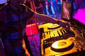 In a night club. — Stock Photo