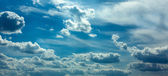 Blue sky. — Stock Photo