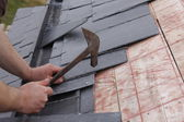 Roofer tools — Stock Photo