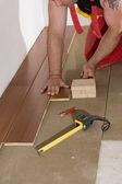 Carpenter works — Stock Photo