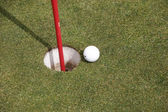 Jogo de Golf — Fotografia Stock
