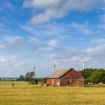 Swedish country panorama — Stock Photo #35881911