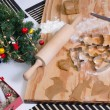 Time for baking Christmas cookies — Stock Photo