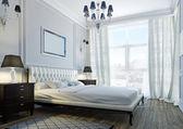 Classic bedroom — Stock Photo