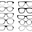 Glasses — Vector de stock #14804915