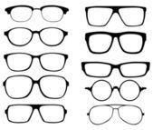 Gözlük — Stok Vektör