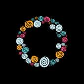 Spirals — Stock Vector
