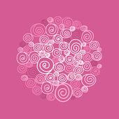 Spiralen — Stockvector