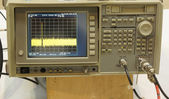 The digital oscilloscope — Stock Photo