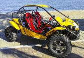 Yellow dune buggy — Stock Photo