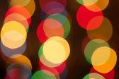 Parlak noel ışıkları — Stok fotoğraf