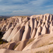 Bizarre geological formations in Cappadocia — Stock Photo #18896877