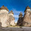 Stock Photo: fairy chimneys in cappadocia