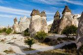 "Group of fairy chimneys ""Pasabagi"" — Stock Photo"
