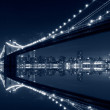New York City, Brooklyn Bridge — Stock Photo
