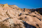 Cappadocia bizzare rock formations — Stock Photo
