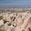 Stockfoto: Turkish famous tourist place - Cappadocia