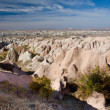 "Famous National Park ""Goreme"" in Cappadocia — Stock Photo"
