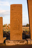 Gravestone in Ahlat cemetery — Stock Photo