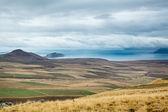 Plains and Van Lake — Stock Photo