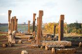 Cementerio de ahlat — Foto de Stock