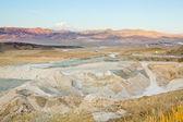 Landscape of turkish mountains — Stock Photo
