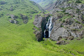 Waterfall in Kegety ravine, Kyrgyzstan — Stock Photo
