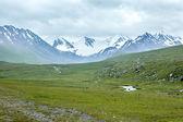 долина в горах — Стоковое фото