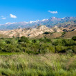 Scenic view of Tien Shan mountains — Stock Photo