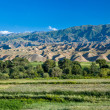Bald mountains in Kyrgyzstan — Stock Photo