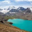 Lake and mountain with glacier — Stock Photo
