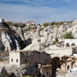 Stock Photo: Ortahisar old houses, Cappadocia