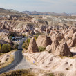 Stock Photo: Fairy chimneys landscape in Cappadocia