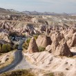 Fairy chimneys landscape in Cappadocia — Stock Photo #35759301