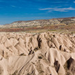Typical landscape of Cappadocia — Stock Photo