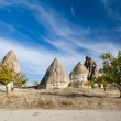 Cappadocian fairy chimneys — Stock Photo
