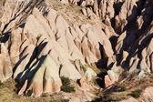 Strange stone formations, Cappadocia — Stock Photo