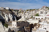 Ortahisar old houses, Cappadocia — Stock Photo