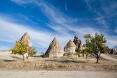 Cappadocian fairy chimneys — Stockfoto