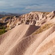 Bizarre geological formations in Cappadocia — Stock Photo