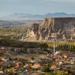 Stock Photo: Yaprakhisar village in Cappadocia