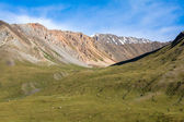 Landscape of majestic Tien Shan mountains — Stock Photo