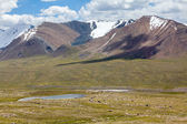 Small lake in Tien Shan mountains — Stock Photo