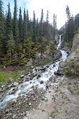 Barskaun waterfall in Kyrgyzstan — Foto de Stock