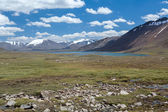 Mountain lake in Tien Shan — Stock Photo